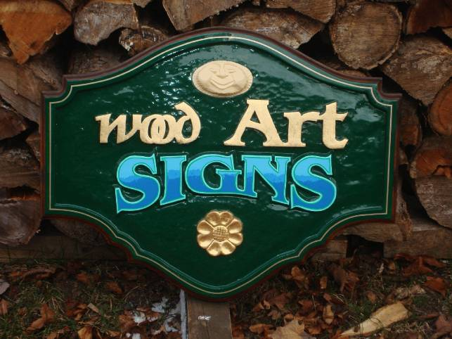 Wood Art Signs